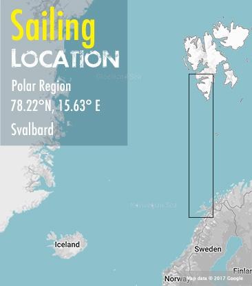 sailing svalbard area map