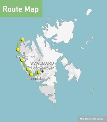 spitsbergen explorer route map-min