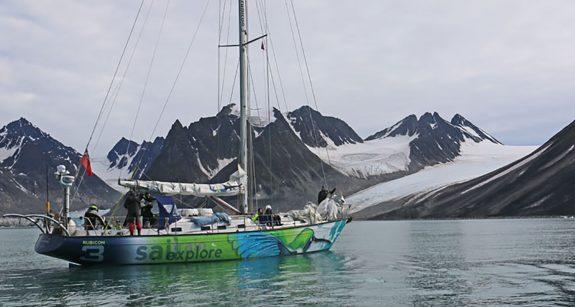 spitsbergen west coast sailing