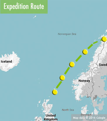Faroes-Norway-route-map