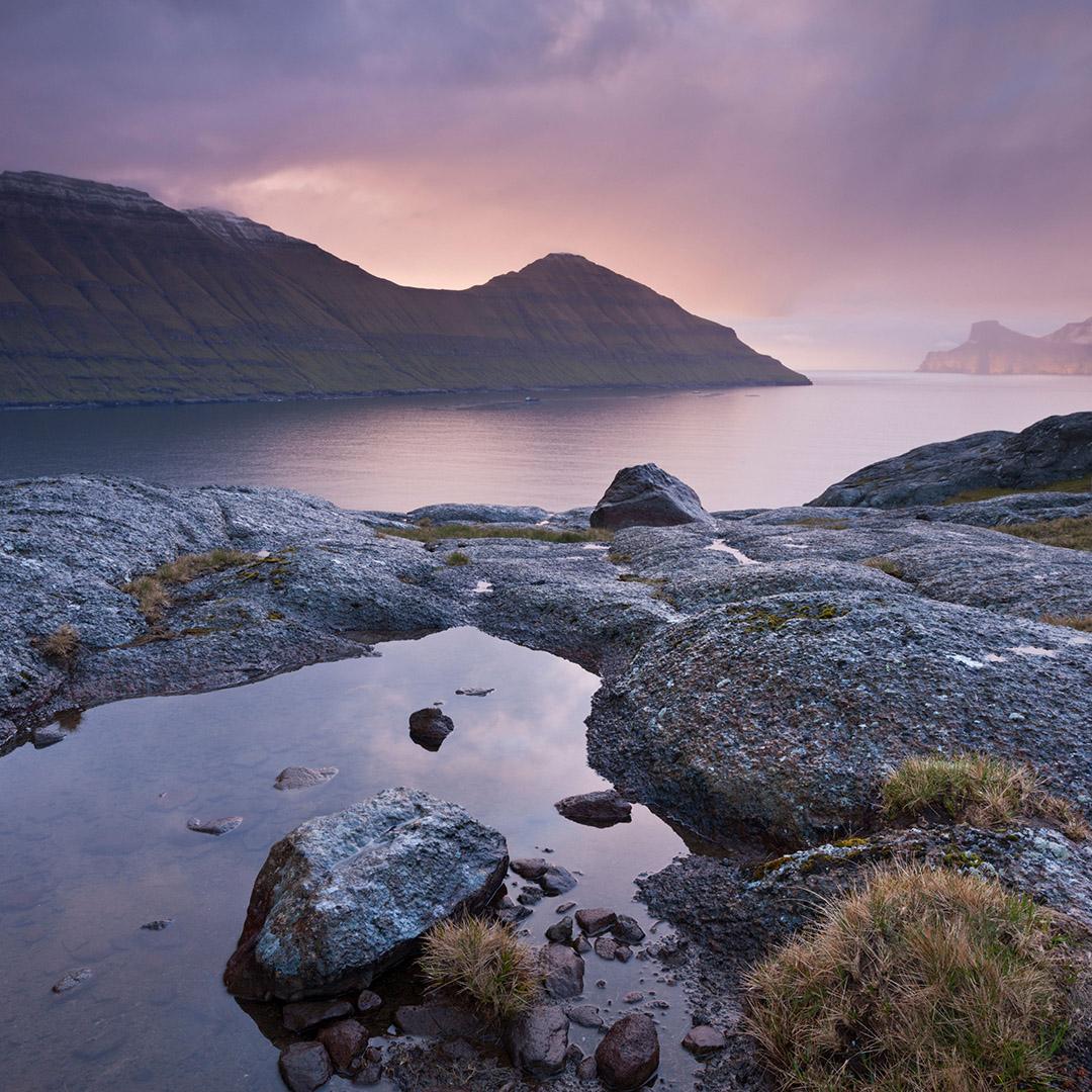 Faroes mountains