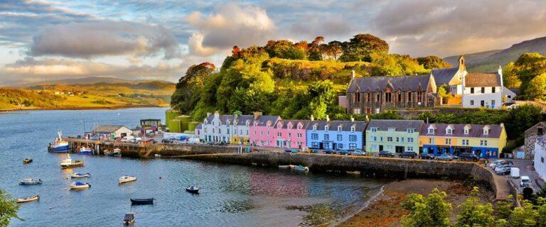 sailing holiday in scotland