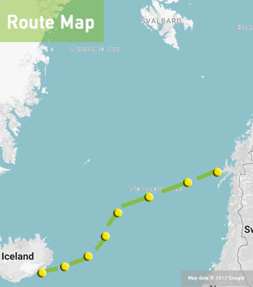 iceland-and-norway-sailing-route-map