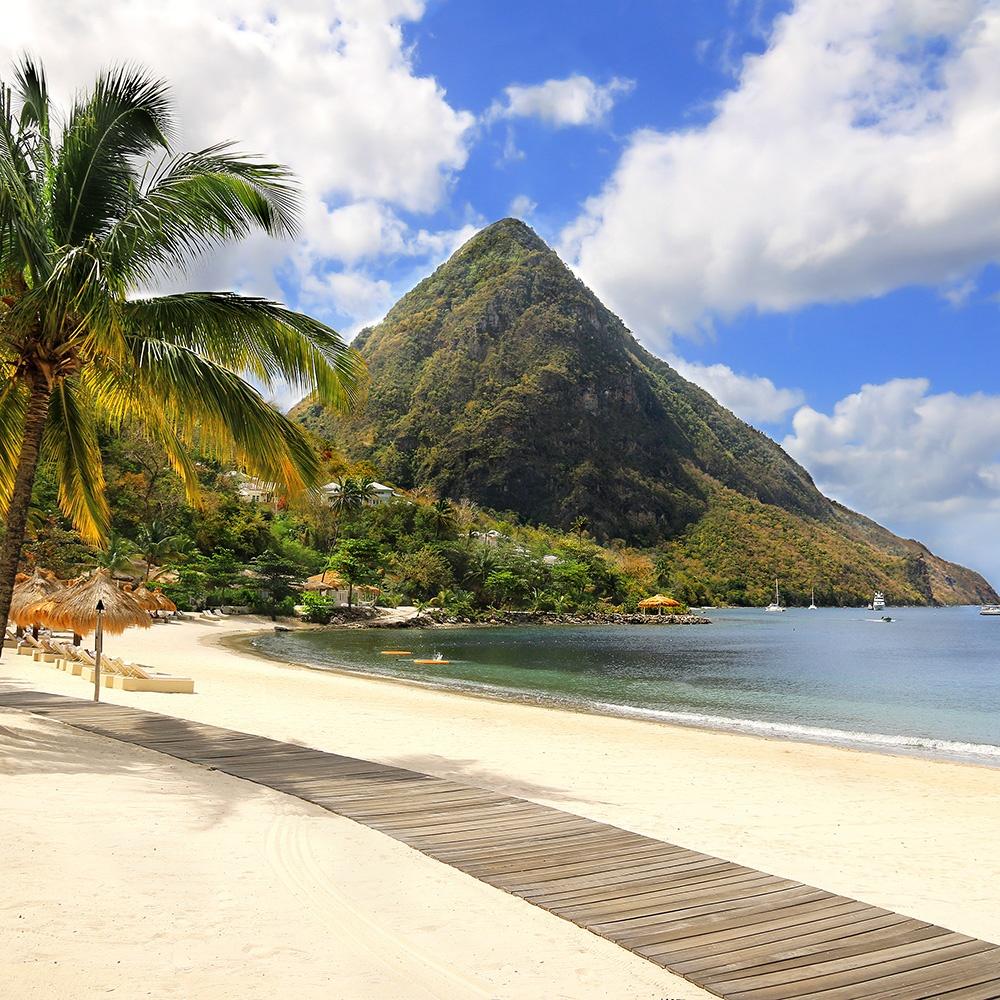 St Lucia marigot bay