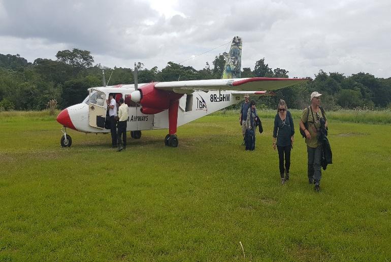 Guyana Plane trip