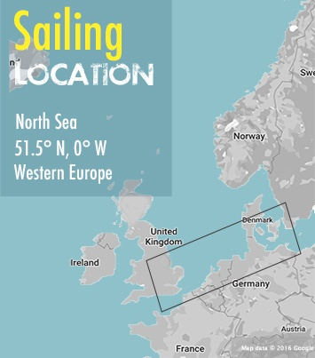 sailing copenhagen to london area map