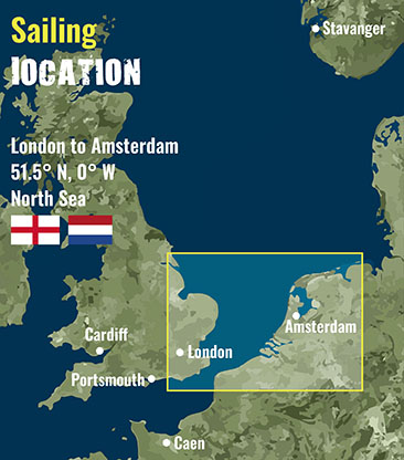 London to Amsterdam- Sailing Location 72 dpi