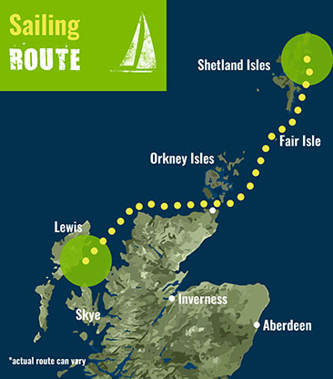 Shetland- Sailing Route 72 dpi