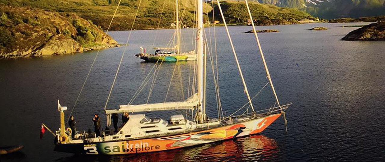 boat at anchor