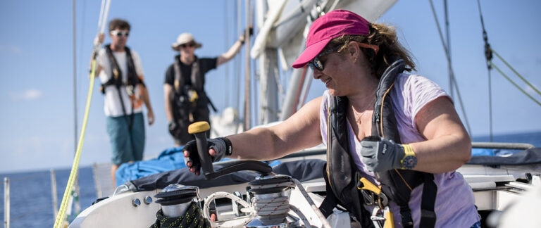 sailing skills builder course